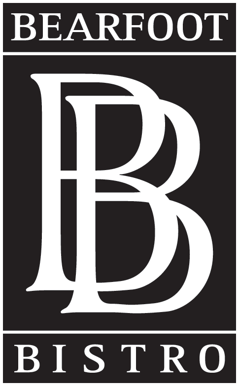Bb logo final black bearfoot bistro for Bb logo