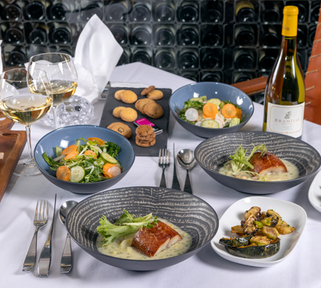 """""""Bearfoot Bistro at Home"""" Family-style Meals"""