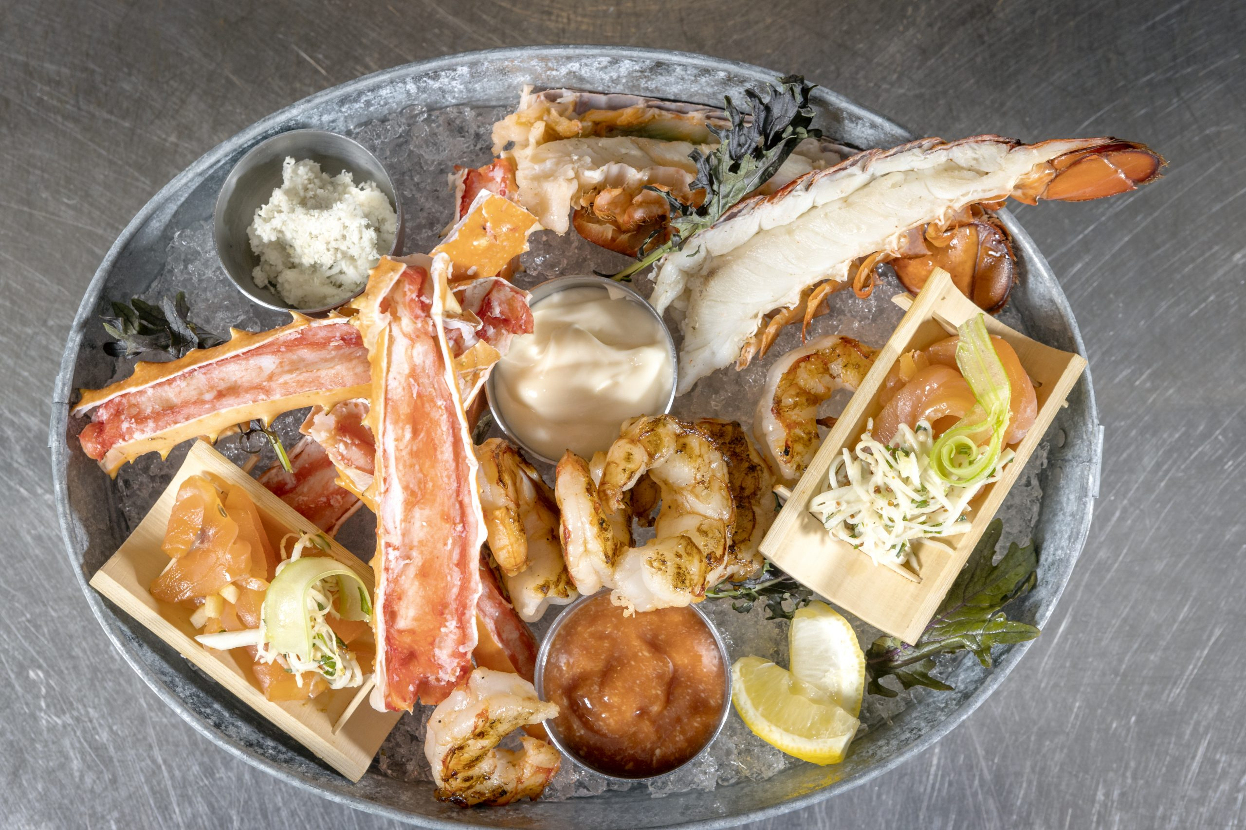 BEARFOOT BISTRO SUMMER PICNIC, BBQ BOXES & SEAFOOD PLATTER TO-GO